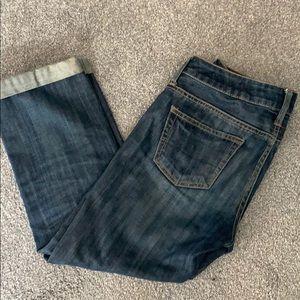 American Eagle boyfriend fit Capri jeans 00